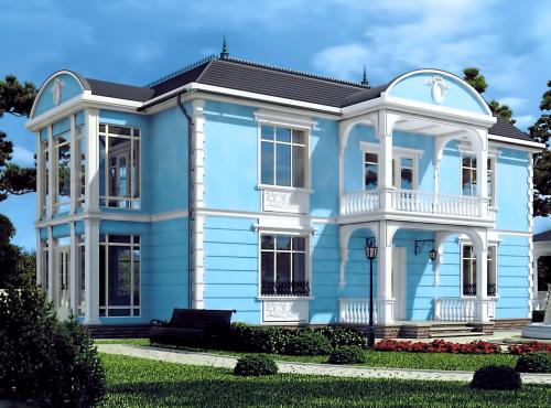 Проект СИП дома БАРОККО
