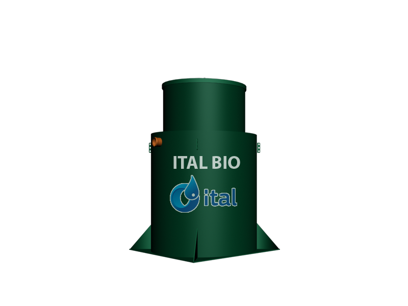 Автономная канализация - Ital Bio 8 (Лонг)