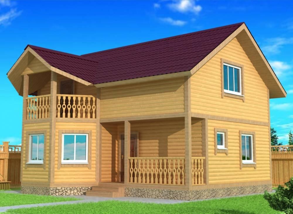 Каркасный дом 7х8