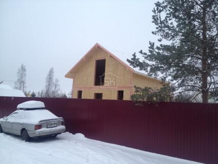 Монтаж дома из СИП панелей завершен