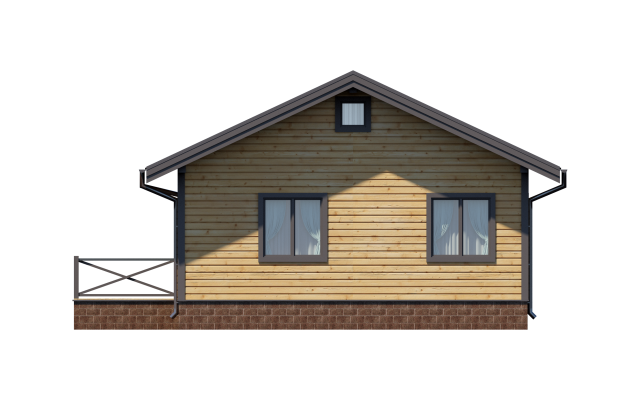 Проект дома из СИП панелей ВЫБОРГ